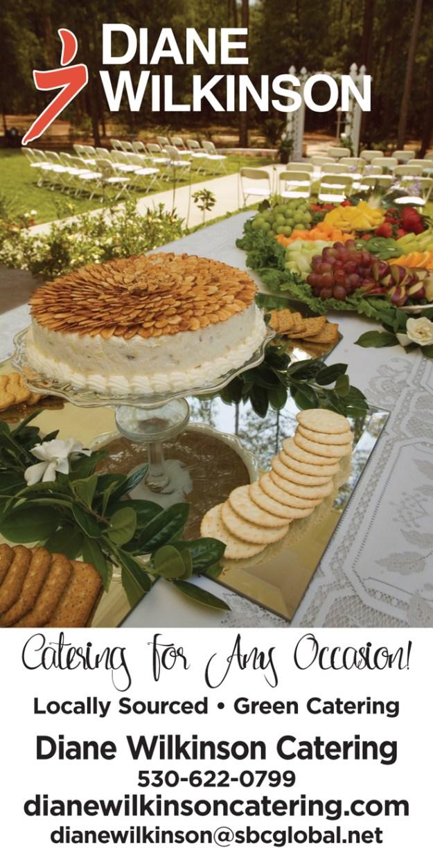 Placerville Wedding Caterer   Wedding Pro Spotlight   Diane Wilkinson Catering   Best Sacramento Caterer