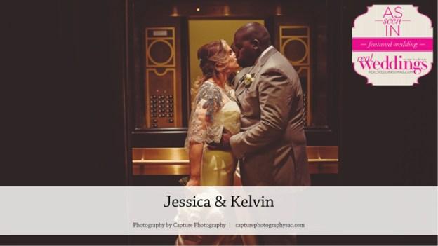 Sacramento Wedding Inspiration: Jessica & Kelvin {From the Winter/Spring 2017 Issue of Real Weddings Magazine}