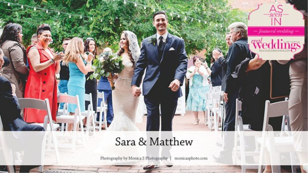 Sacramento Wedding Inspiration: Sara & Matthew {From the Winter/Spring 2017 Issue of Real Weddings Magazine}