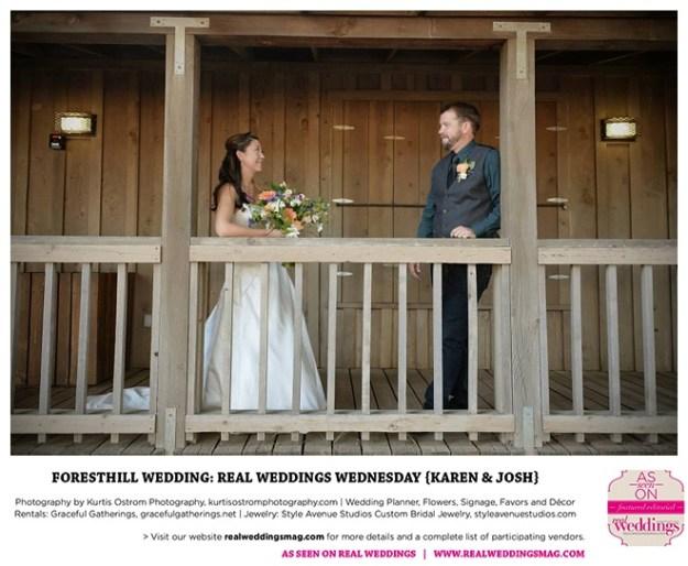 Foresthill Wedding: Real Weddings Wednesday {Karen & Josh}