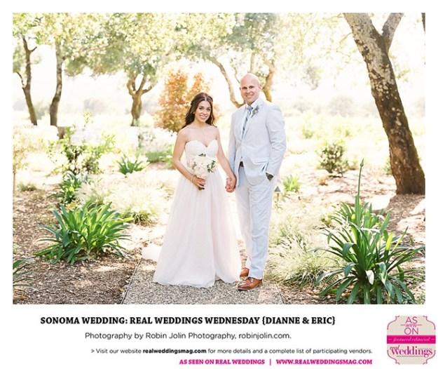 Sonoma Wedding: Real Weddings Wednesday {Dianne & Eric}
