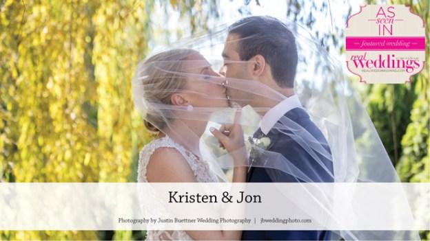 Santa Rosa Wedding: Kristen & Jon {From the Summer/Fall 2017 Issue of Real Weddings Magazine}