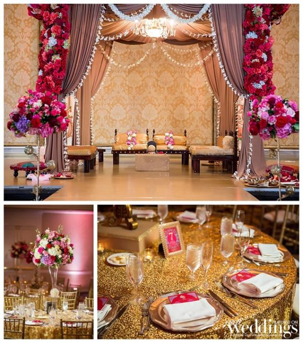 Sacramento Wedding Inspiration: Style Files {Roses & Gold}