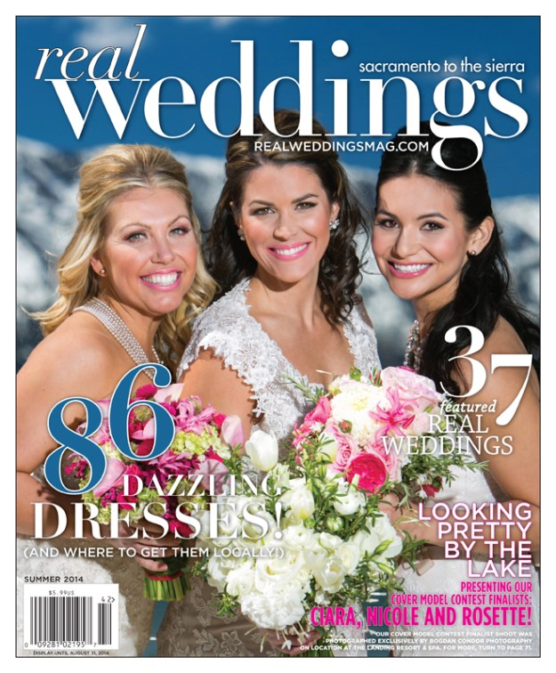 Where Are They Now | Cover Model Contest | Real Weddings Cover Model Contest | The Landing Tahoe Wedding | Bogdan Condor Wedding Photography | Ciara Nicole Rosette | Real Weddings Cover Model Contest