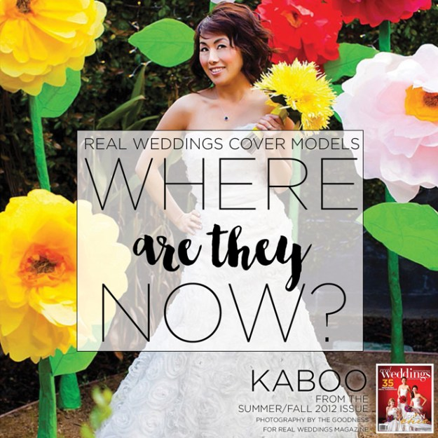 Real Weddings Cover Models: Where Are They Now? {Kaboo Bill from Summer/Fall 2012}