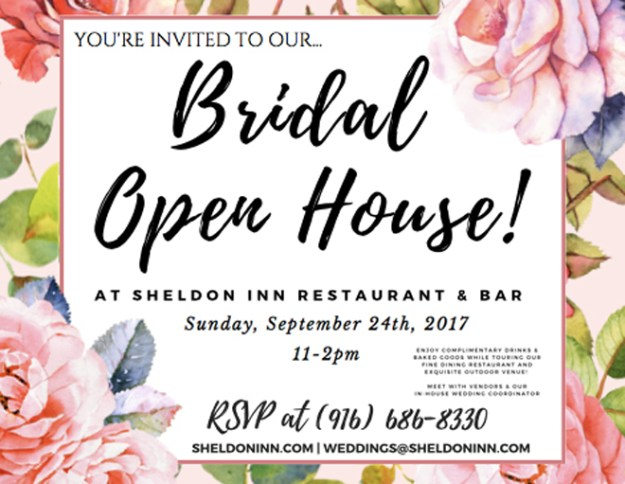 Sheldon Inn Sacramento Wedding Venue Sacramento Bridal Show