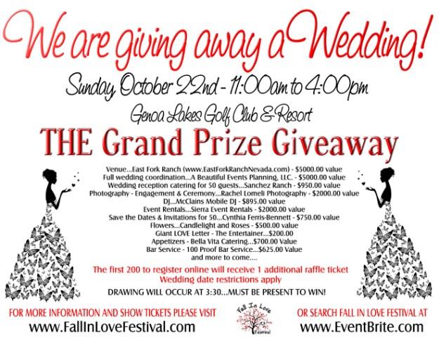Fall in Love Festival | Genoa Wedding Event | Wedding Giveaway | Genoa Lakes Golf Club & Resort
