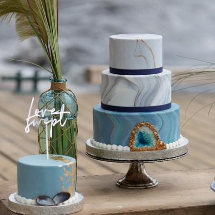 Frank Vilts Cakes Sacramento Wedding Cakes Desserts Real Weddings Magazine