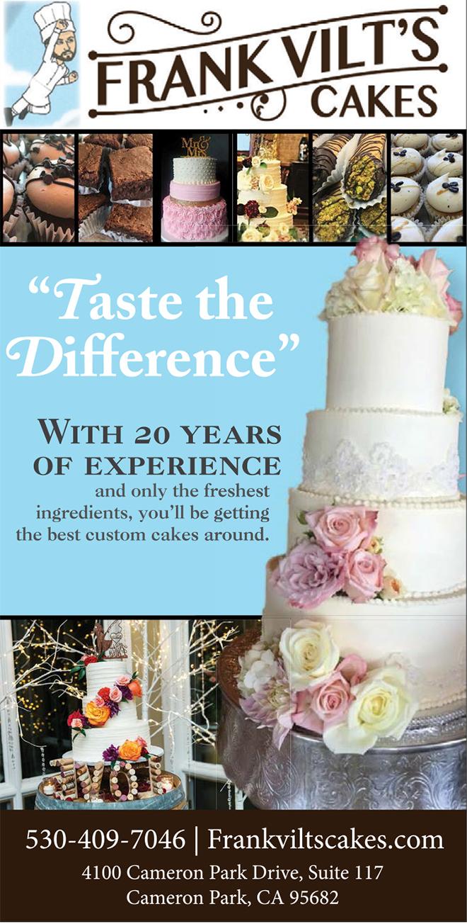 Frank Vilt's Cakes | Cameron Park Wedding Cakes | Sacramento Wedding Bakery | Best Sacramento Wedding Bakery
