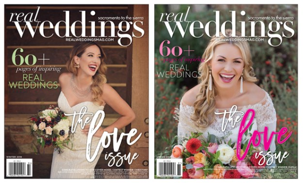 Sacramento Wedding Inspiration: It's Arrived:  The Winter/Spring 2018 issue of Real Weddings Magazine is here!