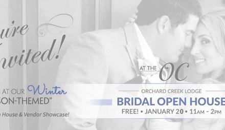 Sacramento Bridal Show, Northern California Wedding Show, Lincoln Wedding Venue, Bridal Open House, Wedding Open House | Orchard Creek Lodge