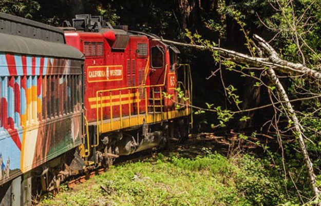 Skunk Train | Fort Bragg | Visit California | California Honeymoon