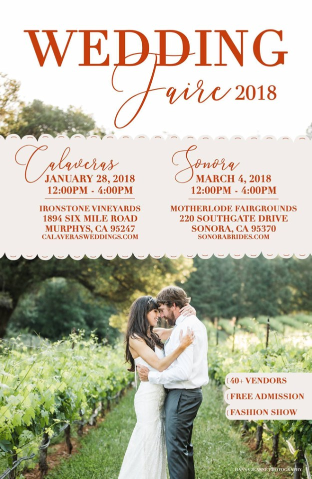 Sonora Wedding Faire | Sonora Weddings | Wedding Vendors
