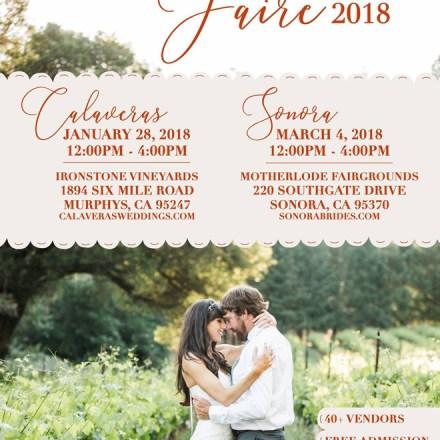 Sonora Wedding Faire | Sonora Weddings | Wedding Vendors