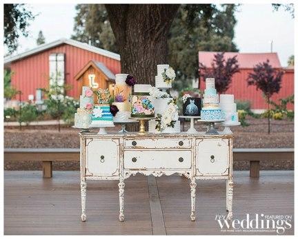 Ty Pentecost Photography | Sheldon Inn Elk Grove | Sacramento Wedding Cakes | Batter Up Cakery | Above & Beyond Cakes \ Frank Vilt's Cakes | Baker & a Black Cat | Something Sweet Bakery | Ettore's | Swoonable
