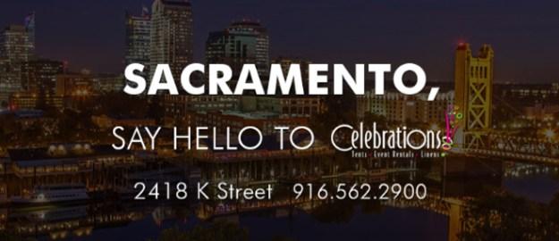 Sacramento Wedding Rentals   Celebrations! Party Rentals & Tents   Sacramento Wedding Rentals   Sacramento Weddings