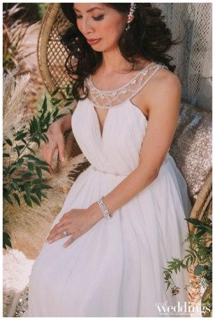 Sacramento's Real Weddings Magazine's Golden Girls Cover Model Photo Shoot. Photographed by Sweet Marie Photography on location at Helwig Winery featuring real bride model Le-Quyen Nguyen.
