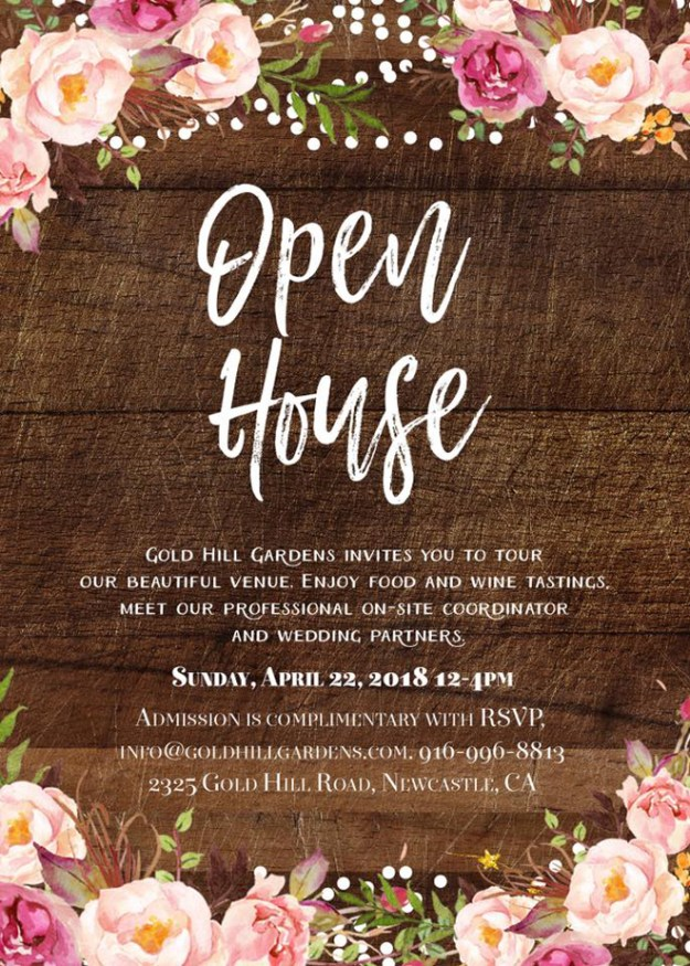 Gold Hill Gardens | Newcastle Wedding Venue | Garden Wedding | Outdoor Wedding | Sacramento Weddings