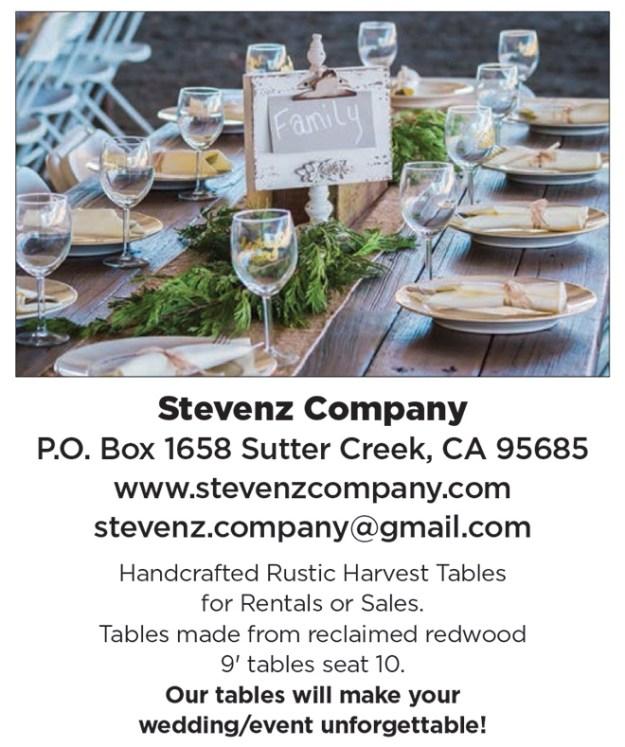 Sutter Creek Wedding Rentals | Wedding Pro Spotlight | Stevenz Company | Farmhouse Tables | Sacramento Table Rentals