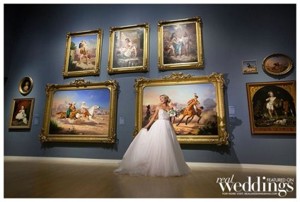 Cover Model Karmen from our Winter/Spring 2014 issue photographed by The Red Sneaker Studio at the Crocker Art Museum for Real Weddings Magazine.
