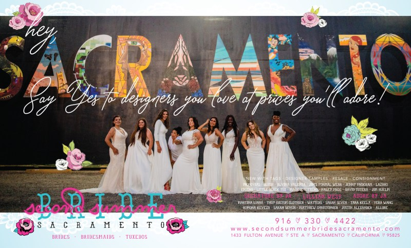 Real Weddings Magazine Special Offer Discount Second Summer Bride Bridal Bridesmaids Gowns Dresses Tuxedos  |  Best Sacramento Tahoe Northern California Vendors
