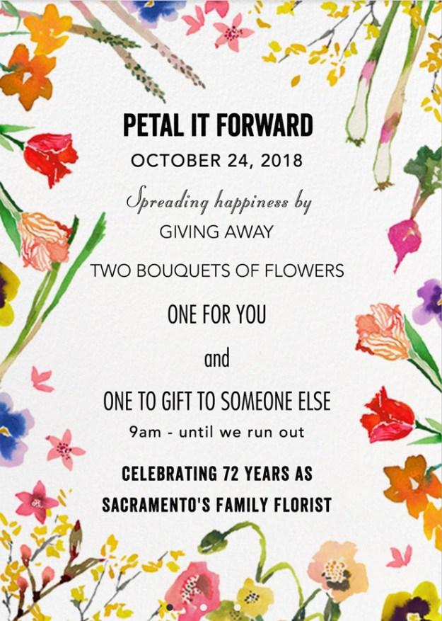 Sacramento Wedding Florist | Sacramento Flowers | Petal it Forward | Relles Florist