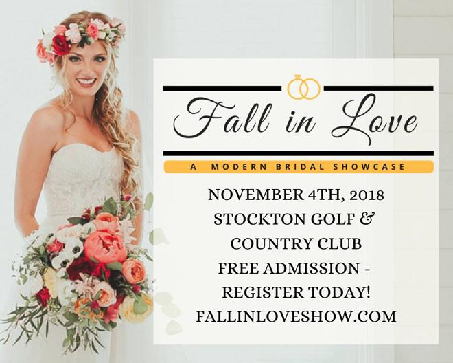 Stockton Bridal Show | Stockton Weddings | Stockton Bride | Central Valley Weddings | Fall in Love Bridal Showcase