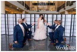 JB Wedding Photography photographed Kristin & David's wedding at Tsakpoulos Library Galleria which featured Style Avenue Studios and Clementine Photo Booths.