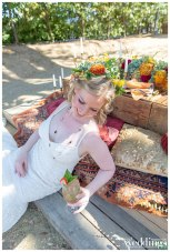 Lolita Vasquex Photography photographed A Picnic in Provence for Real Weddings Magazine at La Provence Restaurant & Terrace.