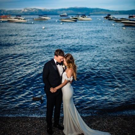 Tahoe Sacramento Lake Front Mountain Wedding Venue