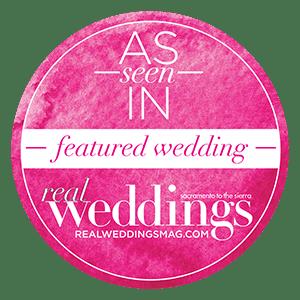 Sacramento Tahoe Featured Wedding   Real Weddings Magazine Featured Wedding