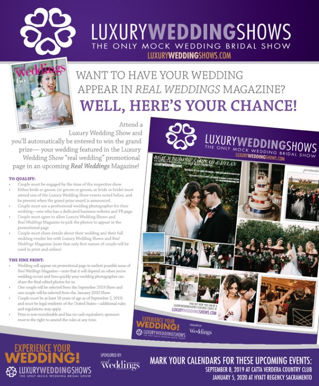Luxury Wedding Show | Sacramento Bridal Show | Roseville Lincoln Bridal Show