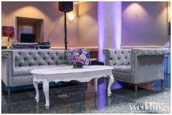 Downtown Sacramento Wedding | Purple Glam Wedding