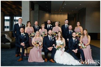 Christina & Ryan | Elegant Modern Wedding | Sacramento Wedding | Jenn Robirds | Andrew & Melanie Photography