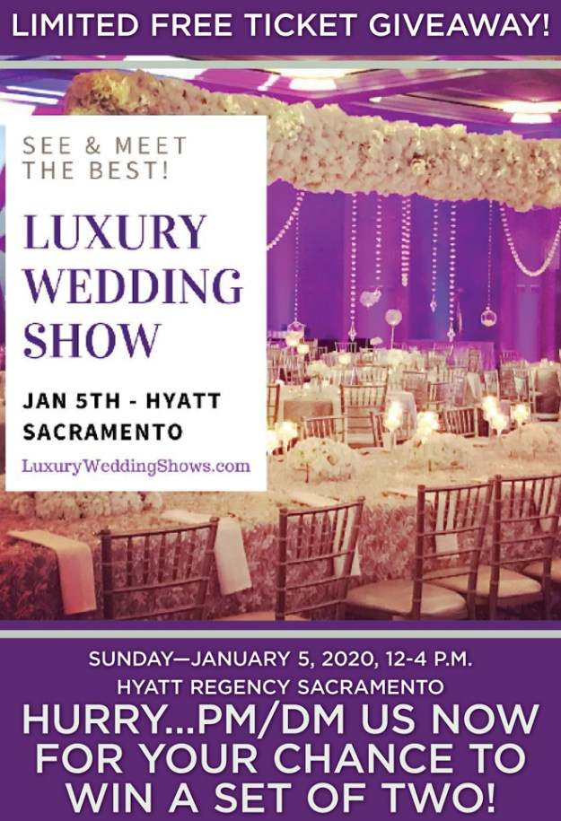 Luxury Wedding Show | Sacramento Bridal Show | Find Your Wedding Vendors