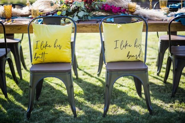 Swoonable | Custom Pillows | Wedding Swag | Real Weddings Giveaway