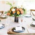 Colorful Wedding Inspiration | Bianca & Brandon Photography | Monte Verde Inn Wedding