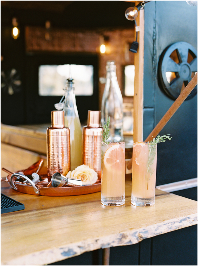 Belle Aventure Mobile Bar Co | Signature Cocktails | Sacramento Wedding Bar Service