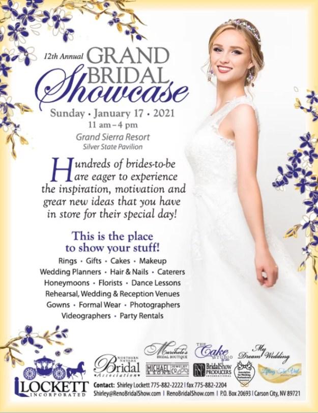 Grand Bridal Showcase-Reno Tahoe Wedding Show