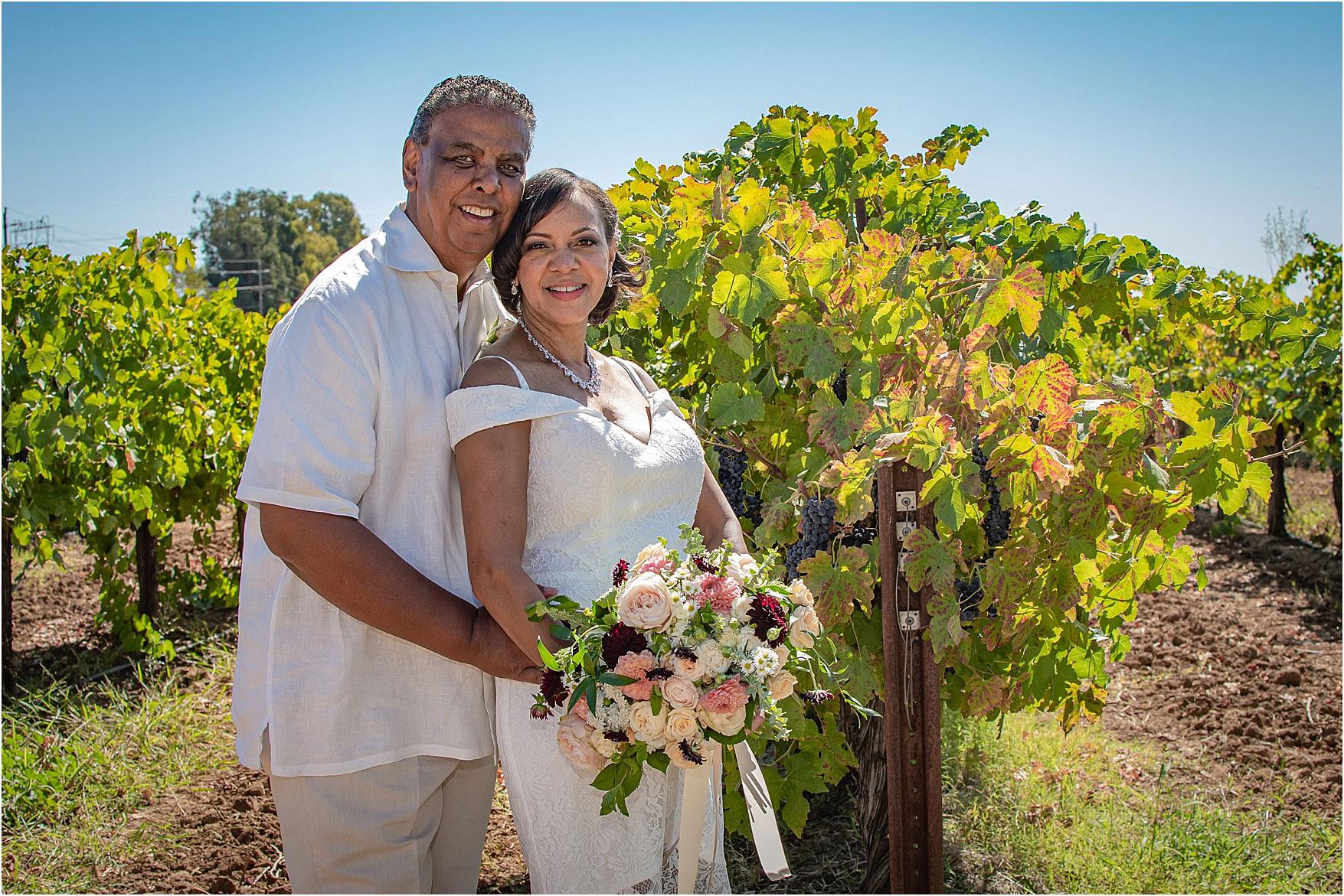 Виктория Даррелл Кристина Cilia Photography McConnell Estates Winery Повседневная свадьба на открытом воздухе