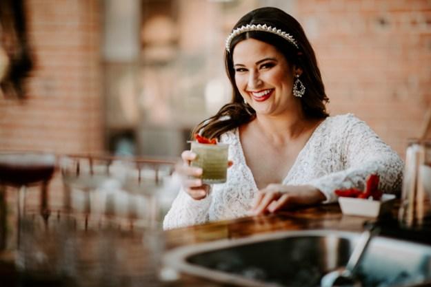 Signature Wedding Cocktail   National Tequila Day   Matcha Margarita   Salud Mobile Bar