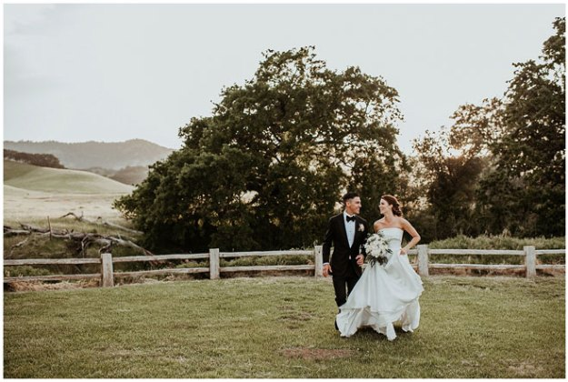 Taylor Brooke Photography Field and Pond Winters Wedding