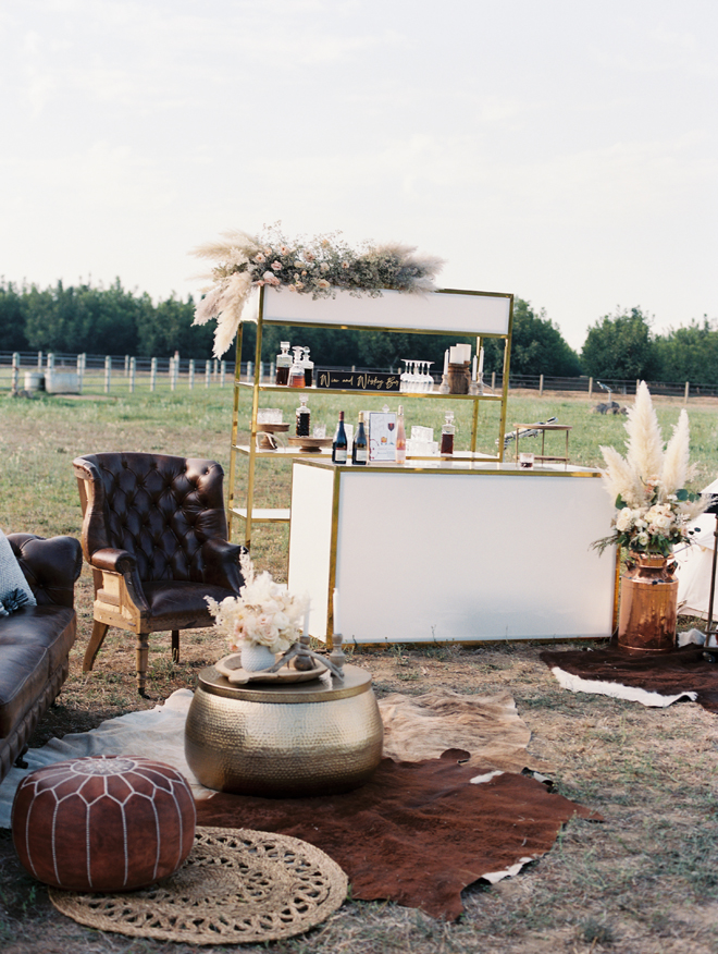 Sacramento Women Supporting Women | Wedding Inspiration | Elegant Rustic Lone Oak Longhorns Styled Shoot Luxury Event Rentals