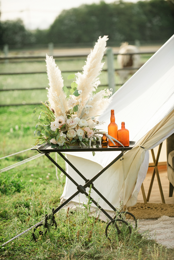 Sacramento Women Supporting Women | Wedding Inspiration | Elegant Rustic Lone Oak Longhorns Styled Shoot Luxury Floral Design