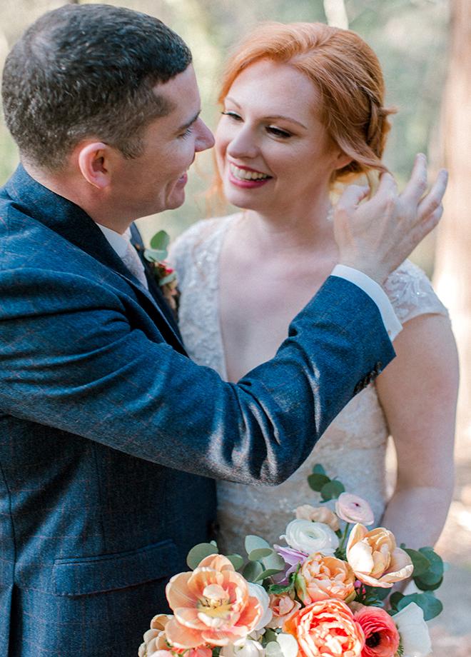 Catharine and Andrew Stone House Nevada City Wedding Kathryn White Photography