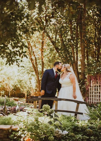 Krystal and Dylan garden wedding by danielle alysse photography