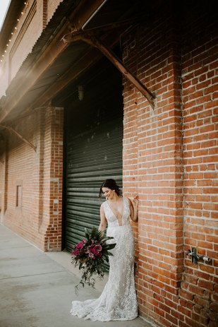 James Young Photography Moody Trendy Modern Old Sugar Mill Wedding Sacramento Real Bride Christina