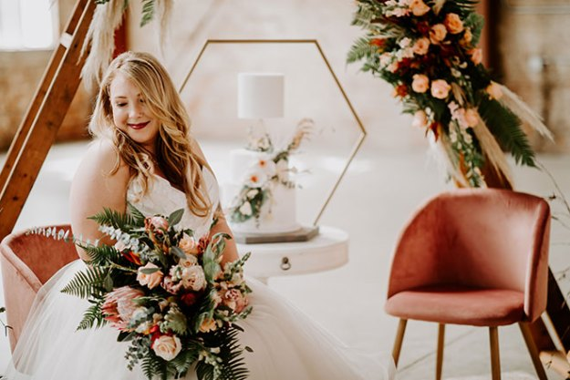 James Young Photography Moody Trendy Modern Old Sugar Mill Wedding Sacramento Real Bride Natalie