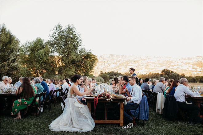Свадьба от фермы к вилке на ферме Full Belly, автор: Лиз Костон, фотография Стефани и Кайл