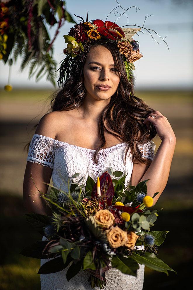 Totally Cray in Love Delta Diamond Farms SatoStudio Sabrina and Matt Modern Boho Wedding Sacramento
